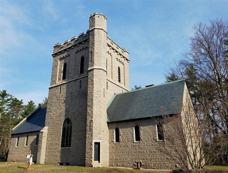 church-side-cross