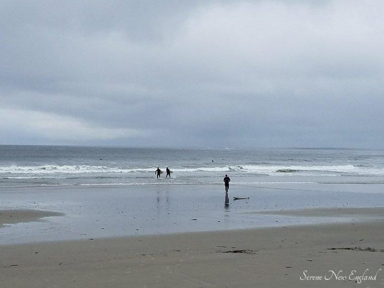 Rainy Day Scarborough Maine Seaside Walk (10)