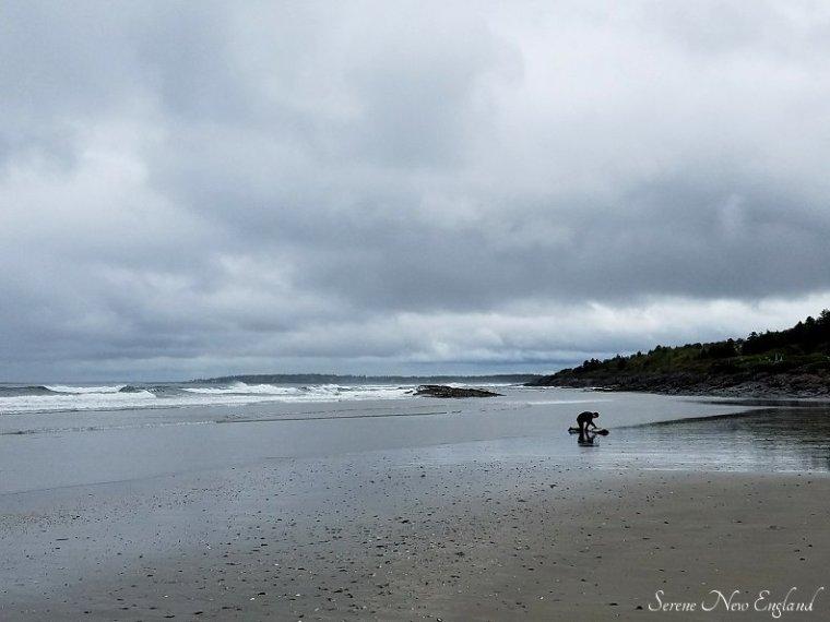 Rainy Day Scarborough Maine Seaside Walk (13)