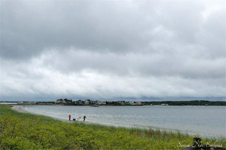 Rainy Day Scarborough Maine Seaside Walk (17)