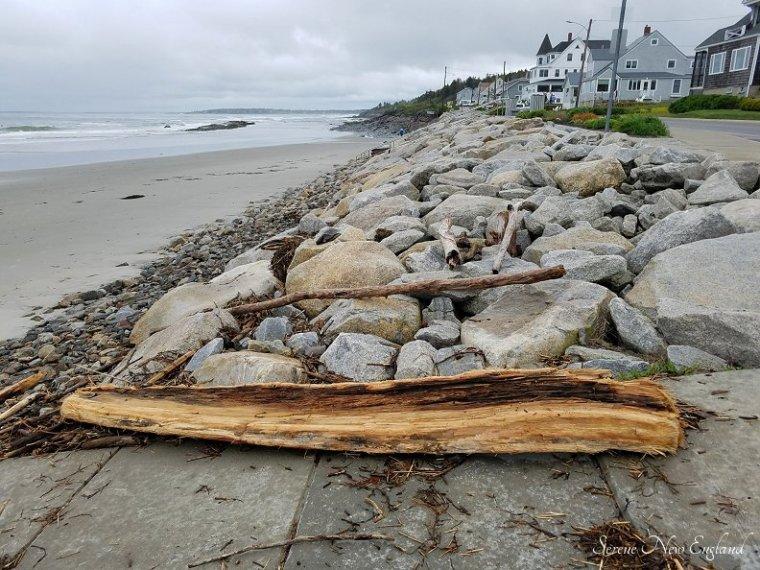 Rainy Day Scarborough Maine Seaside Walk (8)