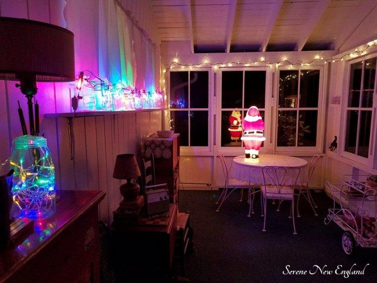 Vintage Christmas Lights Edison Bulbs Mason Jars Bottles (11)