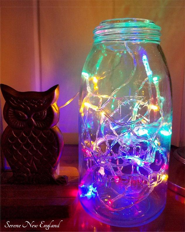 Vintage Christmas Lights Edison Bulbs Mason Jars Bottles (13)