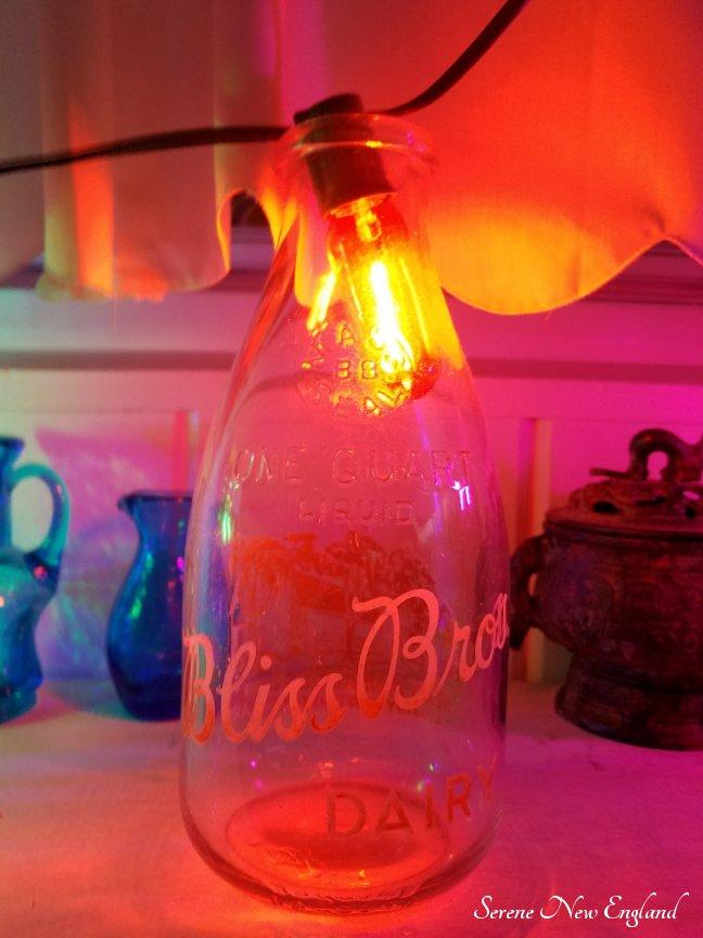 Vintage Christmas Lights Edison Bulbs Mason Jars Bottles (2)