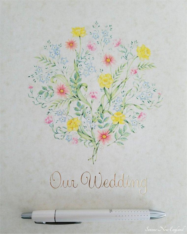 Vintage Wedding Guest Book (6)