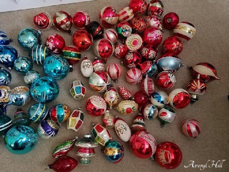Fairy Soap Christmas Box Vintage Mercury Glass Ornaments (6).jpg