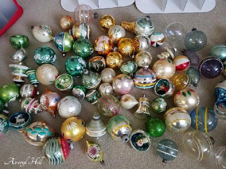 Fairy Soap Christmas Box Vintage Mercury Glass Ornaments (7).jpg