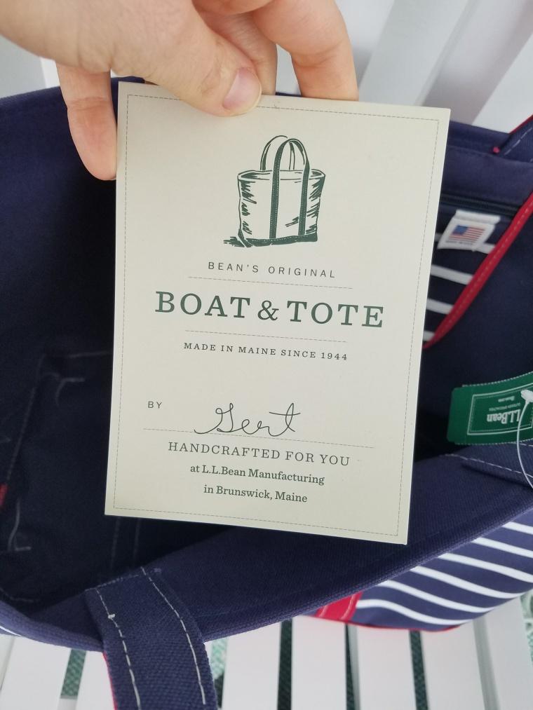 LLBean Boat & Tote (2)