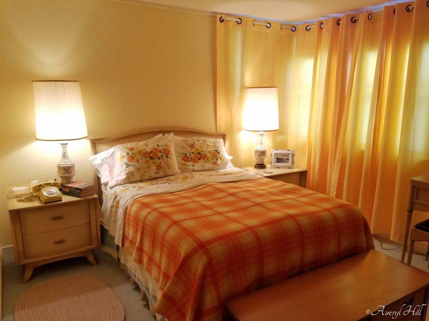 Vintage 1960s bedroom