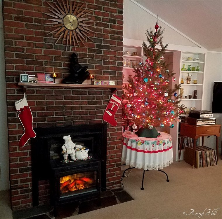Our Vintage Christmas Tree 2019 (5)