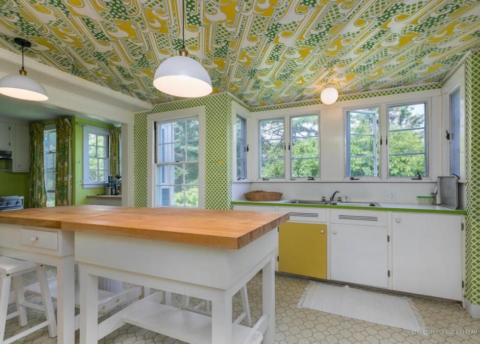Vintage colorful kitchen