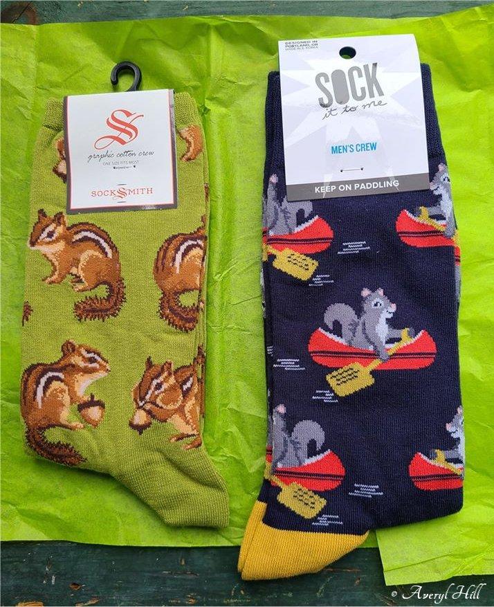Chipmunk & Squirrel Socks